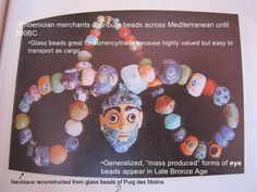 Punic eye beads Molly kaplan Session 3