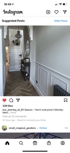 Stairs, Instagram, Home Decor, Stairway, Decoration Home, Room Decor, Staircases, Home Interior Design, Ladders