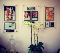 What a beautiful way to showcase your talents and achievements and keep your salon looking modern and classy!  Love that you can now create a plaque using your Instagram account as well!  #inthenews #instagram #plaques #wallart