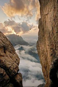 Playground,  Lienzer Dolomiten, Austria Photographer: Martin Lugger Athlete: Florian Ebner