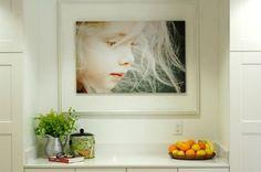 Photograph / photography / photo as art in interior design | Designer: Becky Brown
