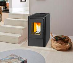 Estufa de pellets de aire WATT - Leroy Merlin Stove, Home Appliances, Fire, Wood, Stoves, Combustion Chamber, Drawers, Interiors, House Appliances