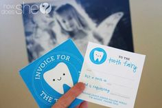 tooth fairy printables....really cute.     I wish the tooth fairy would have been this cute when I was a kid
