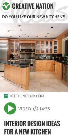 Interior design ideas for a new kitchen | http://veeds.com/i/DUGWpdbRMcOpiV_h/creativenation/