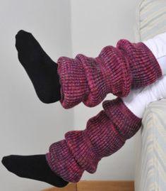 Tekstiiliteollisuus - patenttineule säärystimet ohje Leg Warmers, Winter Fashion, Legs, Diy, Accessories, Handicraft Ideas, Knitting Ideas, Winter Style, Knits