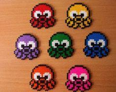 Cute kitsch little octopus sprite