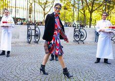 Caroline Issa in Paris