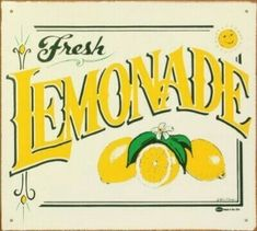 Lemonade Sign, Handmade Soaps, Juice, How To Squeeze Lemons, Simple Syrup, Home Decor, Homemade Home Decor, Juice Fast, Syrup