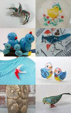 Bird is the Word with Team Kitsch!   by Laura Brown on Etsy--Pinned with TreasuryPin.com