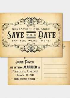 Steampunk wedding invite rsvp. I love this! I hope I can do a inspirational wedding like this so fun!