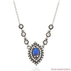Authentic Silver Necklace by SilverJewelryStore on Etsy, $34.00