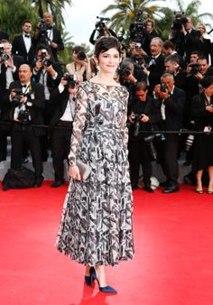 Audrey Tautou 2014 Cannes Film Festival Opening Ceremony