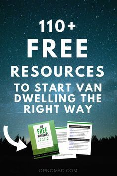 110 Free Resources For New Van Dwellers
