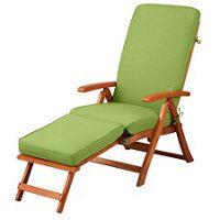 """Steamer Chair Cushion 72""""x20""""x3"""" - Key Lime"""