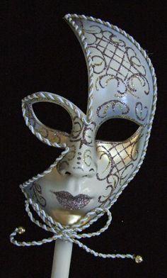 Fancy Venetian Half Mask Light Blue Mardi Gras Halloween Masquerade Costume - http://www.halloween.quick-reviews.com/6461/fancy-venetian-half-mask-light-blue-mardi-gras-halloween-masquerade-costume.html