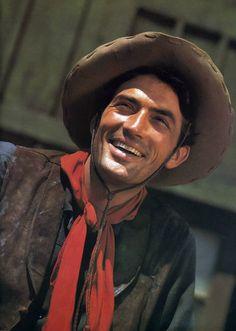 Gregory Peck … No Greenhorn!   My Favorite Westerns