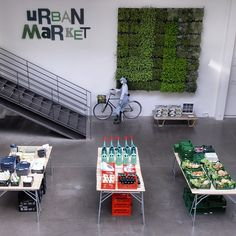 """MERCI,Paris,France, """"Welcome All to The Urban Market"""", pinned by Ton van der Veer"""