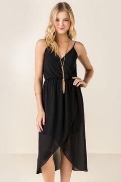 Amya Hi-Lo Maxi Dress