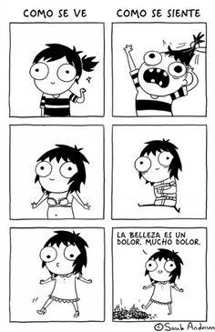 15 dibujos que demuestran que ser niña NO ES FÁCIL :( - Imagen 6