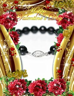 Faceted Onyx Bracelet Valentines Day Giveaway