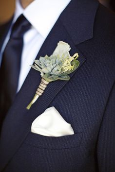 Boutonniere by moderndaydesign.com, Photography by megperotti.com