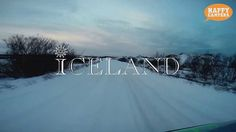Driving in Iceland in the snow!