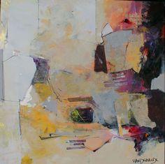 Abstract Paintings - Ann Vandervelde Artist - Seattle WA