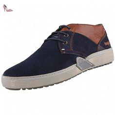 bugatti , Chaussures de ville à lacets pour homme bleu Blau (blue brown  422) - bleu - Blau (blue brown 422), 41 EU  Amazon.fr  Chaussures et Sacs 8bf7accdda0
