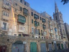 Valetta o zmierzchu Malta, Street View, Malt Beer