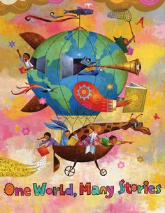 ONE WORLD, MANY STORIES  Summer reading!!