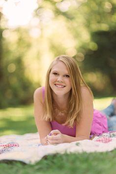 Senior Portrait Photography| senior summer portrait session| Asheville, NC| Kathy Beaver Photography