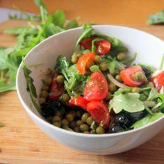 Veggie-Packed Arugula Salad HealthyAperture.com