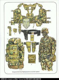 U.S. Army combat equipment, modern U.S. combat equipment