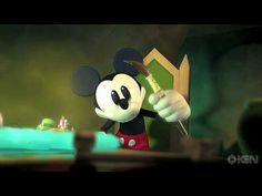 ▶ Epic Mickey Intro Cinematic Trailer - Gamescom '10 - YouTube