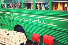vintage mobile-- fashion truck in dallas-- vintage clothing - so wonderful!