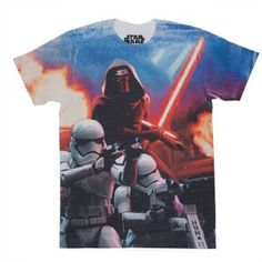 Star Wars The Force Awakens Assault Men Sublimated T-shirt