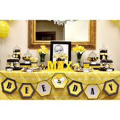 bumble bee party   bumble bee day birthday party printable invitation bumble bee day ...