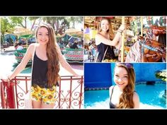 Day in the life   My Summer Makeup, Hair, & Outfit! - StilaBabe09