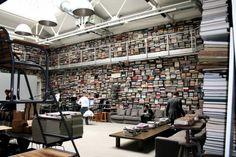 Karl Lagerfeld's Sideways Library - Core77