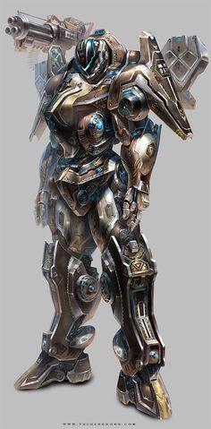Transformer Character Design by Yu Cheng Hong #character #digital #digitalart #cgi #design |