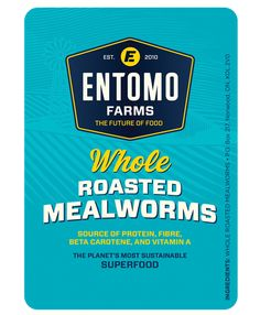 Entomo Farms: a global leader in the cultivation of cricket flour, cricket powder and insect protein; delivering the planet's most sustainable food source Edible Insects, Edible Plants, Cricket Farming, Sans Gluten, Gluten Free, Cricket Flour, Meal Worms, Sustainable Food, Food Industry