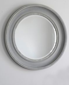 Bathroom Mirror Grey new england mirror - white | queriege mirrors | pinterest | round