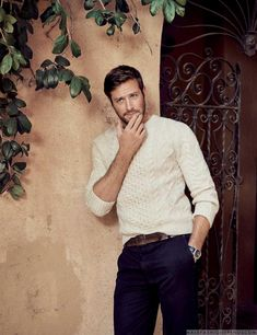 Male Fashion Trends: Armie Hammer para The Holywood Reporter por Brian Bowen Smith