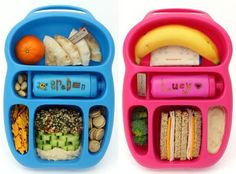 I'm sometimes a bit out of the loop when it comes to the newest and coolest in lunchbox design, so these Goodbyn bento-style lunch carriers completely passed me by until now. How awesome are they?! Forget the kids, I want one for myself.