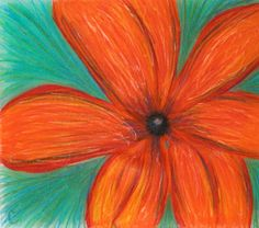 Crystal's Orange Daisy