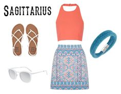""""""" Sagittarius summer style """" by laurennn02 ❤ liked on Polyvore featuring Oasis, Elizabeth and James, Billabong, Smoke & Mirrors and Swarovski"""