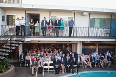 Ceremony shot of guests - but want all hands up & party style