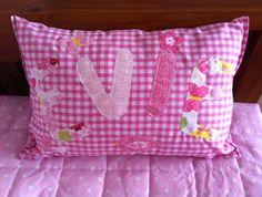 Personalised Girls Name Cushion £12.00