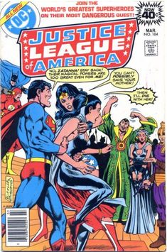 Cover for Justice League of America (DC, 1960 series) #164