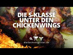 Chicken Wings - asiatisch - die sachsengriller Rotten, Beef, Food, Grill Accessories, Waffle Iron, Grill Party, Simple, Meat, Meals